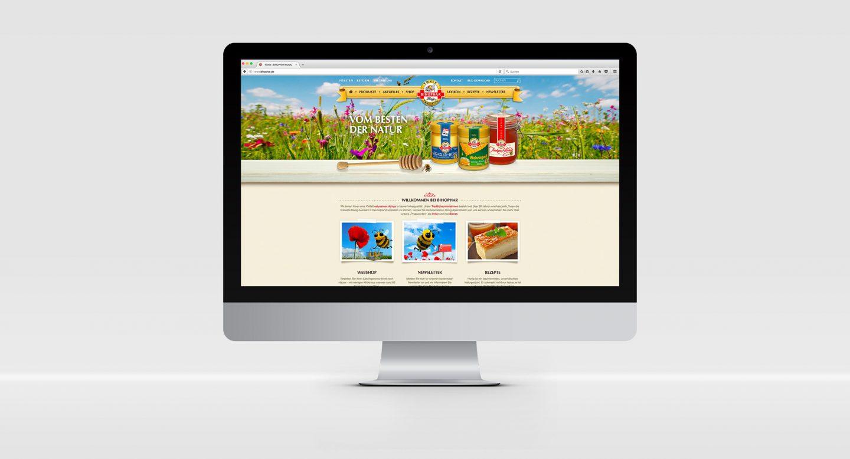 Steffen und Bach Projekte - Bihophar Webseite