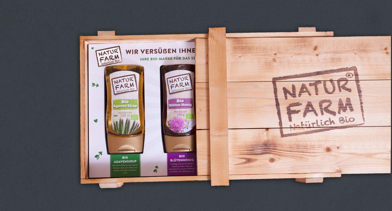 Steffen und Bach Projekte - Naturfarm Verpackungsdesign