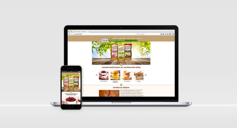 Steffen und Bach Projekte - Naturfarm Webseite