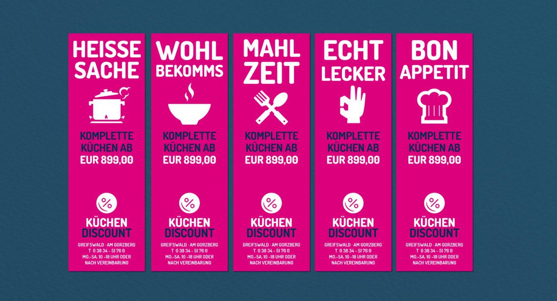 Küchen discount greifswald  Projekte - Küchendiscount Markeneinführung | Steffen und Bach