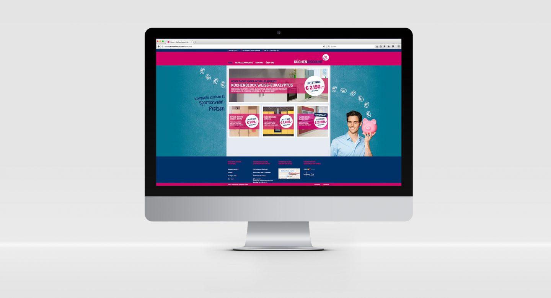 Steffen und Bach Projekte - Küchendiscount Website