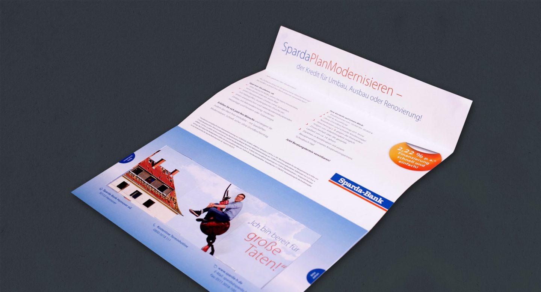 Steffen und Bach Projekte - BauFi Sparda-Bank Mailing