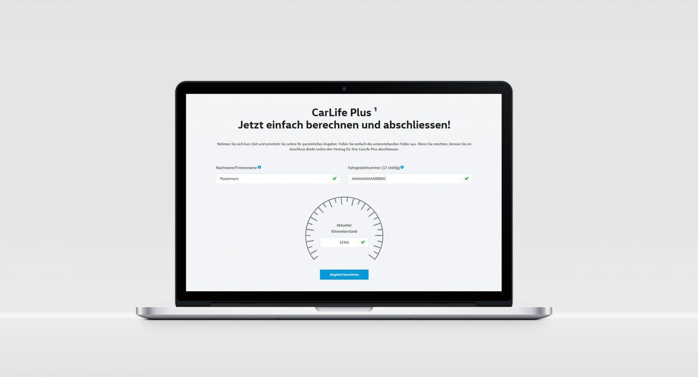 Steffen und Bach Projekte - CarLife Plus Angebotsrechner