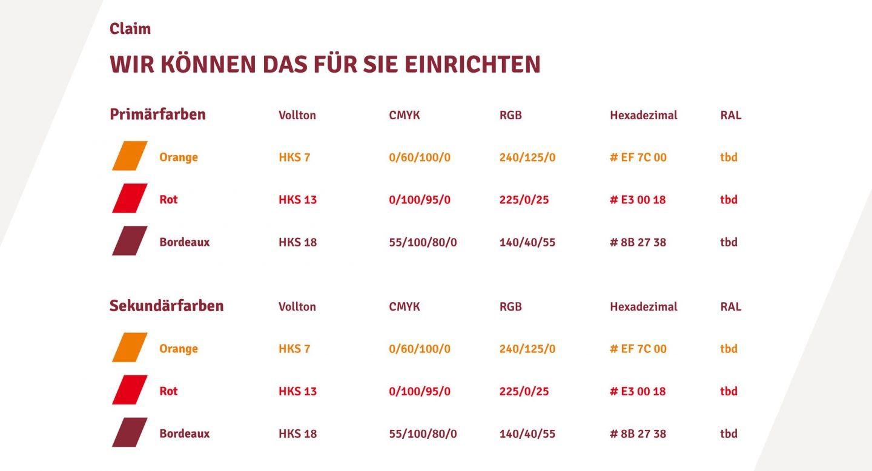 Steffen und Bach Projekte - t+t Markt Farben