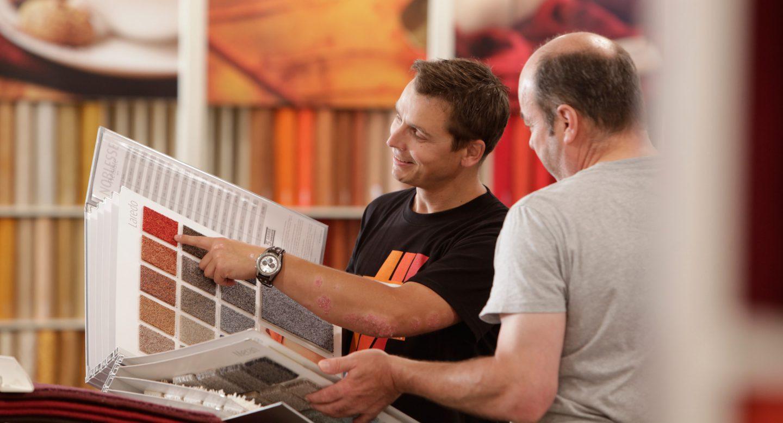 Steffen und Bach Projekte - t+t Markt Fotoshooting