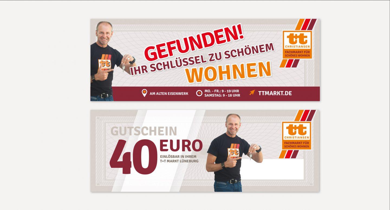 Steffen und Bach Projekte - t+t Markt Gewinnspiel
