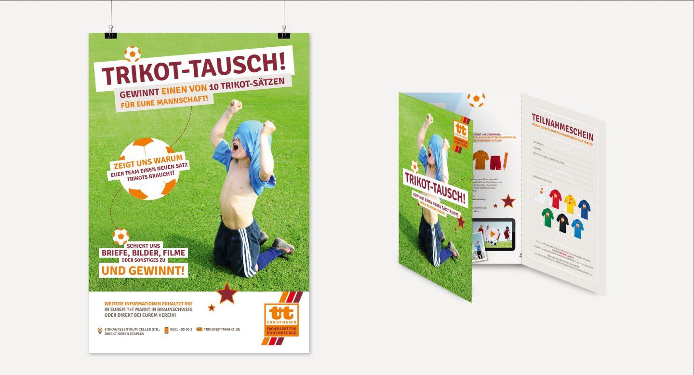 Steffen und Bach Projekte - t+t Markt Faltblatt