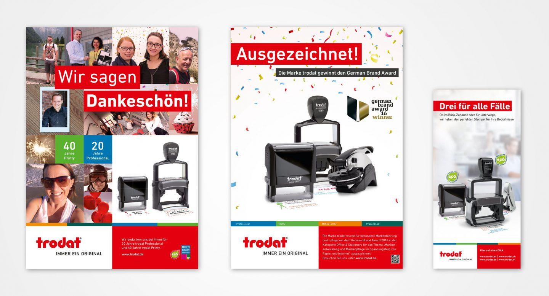 Steffen und Bach Projekte - trodat Werbebeispiel