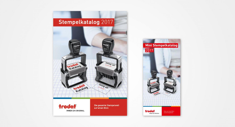 Steffen und Bach Projekte - trodat Stempelkatalog