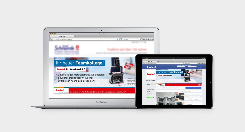 Steffen und Bach Projekte - trodat Professional 4.0 Banner