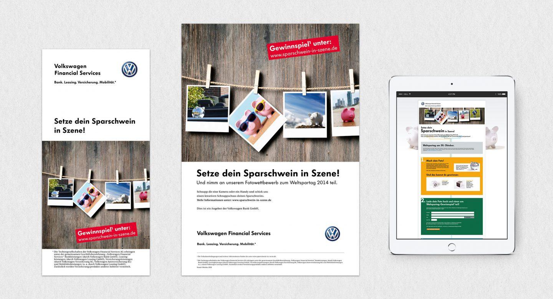 Steffen und Bach Projekte - Gewinnspiel Volkswagen Financial Services