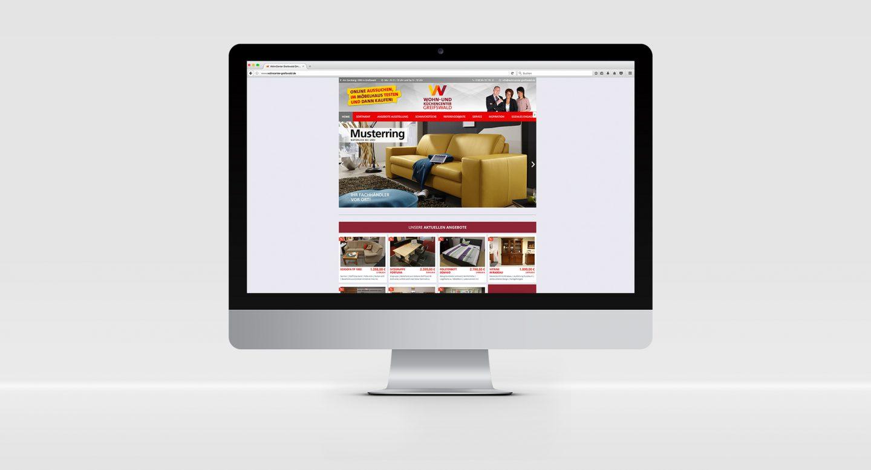 Steffen und Bach Projekte - Wohncenter Greifswald Webseite