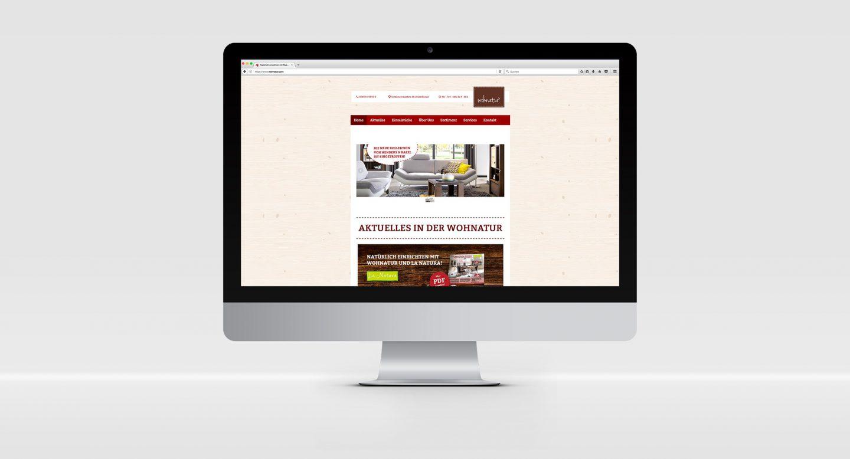 Steffen und Bach Projekte - Wohnatur Website