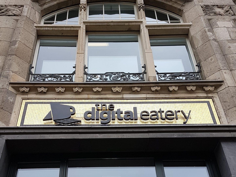 Steffen und Bach Betriebsausflug Berlin digital eatery Microsoft